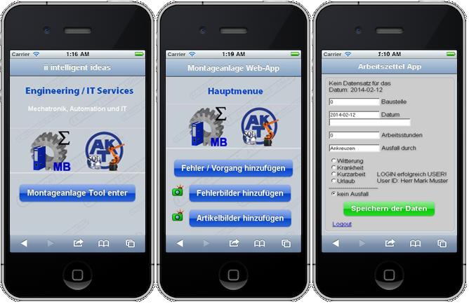 Web App