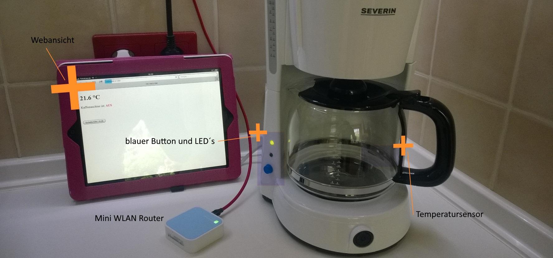 Iot Web Kaffeemaschine
