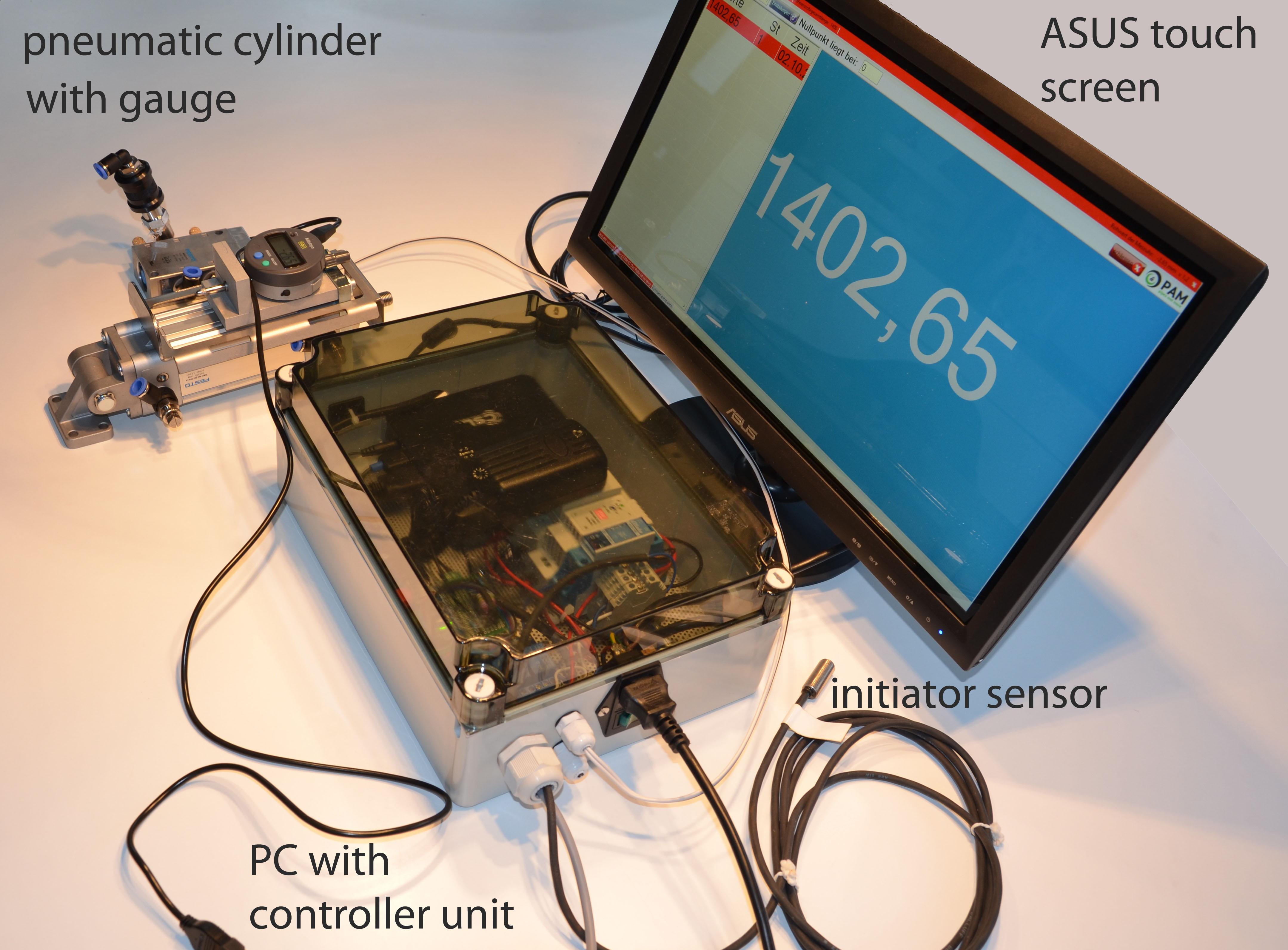 Messsystem mit Controller und Software