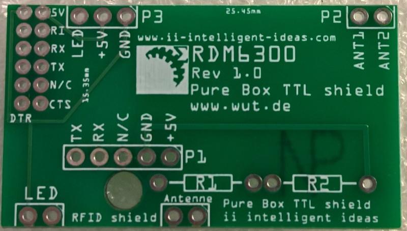 Verbinder Platine RDM6300